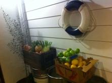 Fresh Produce near Kitchen