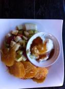 Fruit Salad with Natural Yoghurt & Honey
