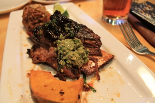 Bourbon Beef Short Ribs with Roasted Pumpkin