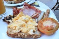 Full Breakfast with Scrambled