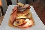 Panckaes with Bacon, Banana & Maple Syrup 1
