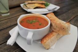 Roasted Capsicum & Chorizo Soup 1