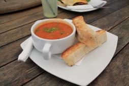 Roasted Capsicum & Chorizo Soup 2