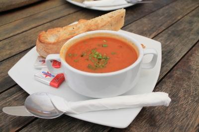 Roasted Capsicum & Chorizo Soup 3