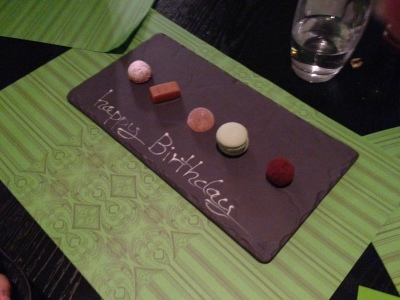Birthday Selection of Petit Fours