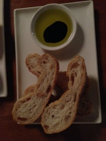 Bread with Balsamic & EVOO