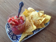Salsa and Corn Chips 2