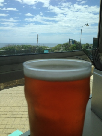 Pale Ale against the Ocean