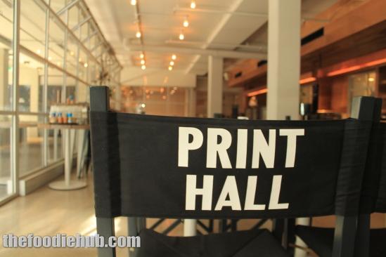 Small Print underneath Print Hall