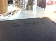 Zafferano Menu Cover