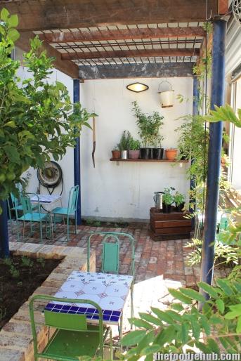 Rear Courtyard 1