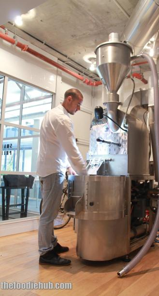 Simon Catoni & the Roasting Machine