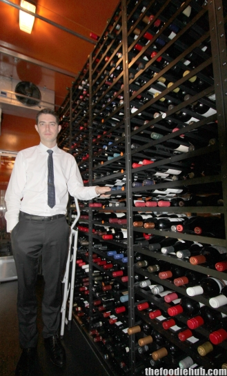 Richard with wines