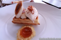 Waffle with Maple Syrup, Caramelised Banana, Bacon & Egg Ice Cream 5