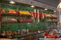 The Antipasti counter