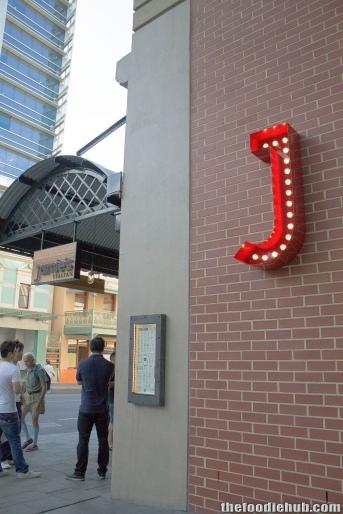 The J - William St