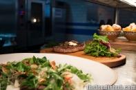 Wagyu Bresaola & Beet Salad, Steak Tagliata & Polenta Chips