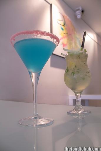 Apple Cider Mojito & Lemon Blueberry Martini