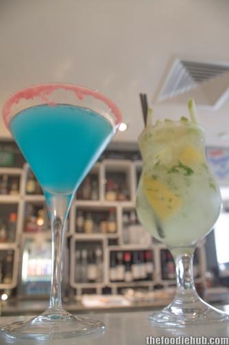 Lemon Blueberry Martini & Apple Cider Mojito