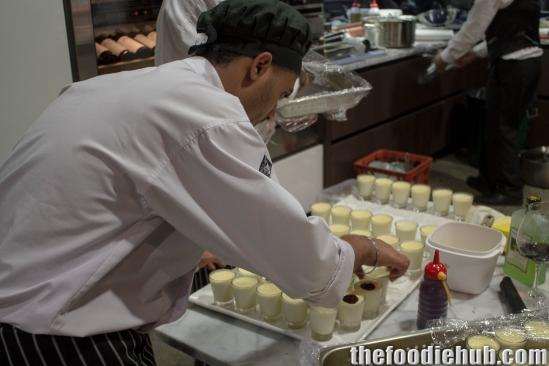 Preparing Panna Cotta