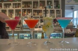 Pure Bar cocktails