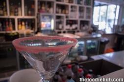 Start of Lemon Blueberry Martini - 'The Esther'