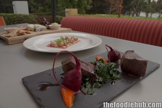 Venison, Carpaccio & Cheese Platter