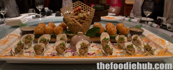 Baked Oysters with Foie Gras Sauce2