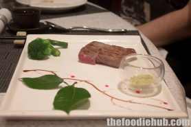 Pan Fried Wagyu Beef with Lime Rock Salt (Gluten Free)