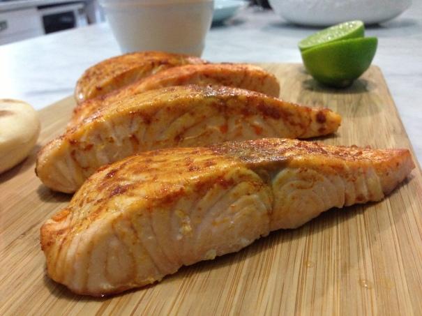 Tandoori Baked Salmon