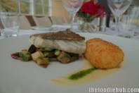 Local salt water barramundi, ratatouille, cauliflower croquettes, gremolata3