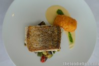 Local salt water barramundi, ratatouille, cauliflower croquettes, gremolata4
