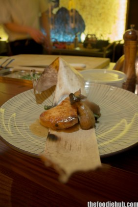 Swordfish with Eggplant on Bamboo Leaf3