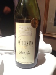 Pattersons Pinot Noir 2001 (2)